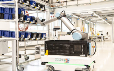Wireless Industrial Robotics Use Case jetzt mit Visualisierung